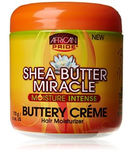 African Pride Shea Butter Miracle Creme Hair Moisturizer 170 g