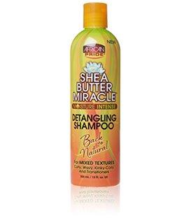 African Pride Shea Butter Miracle Detangling Hair Shampoo 355 ml