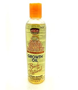 African Pride Shea Butter Miracle Growth Oil 235 ml