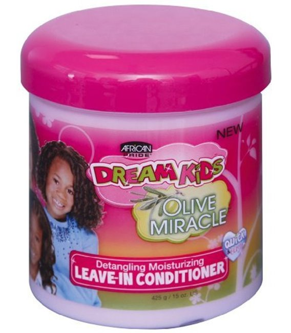 African Pride Dream Kids Olive Miracle Detangling Moisturizing Leave-In Conditioner 425 g/15 oz