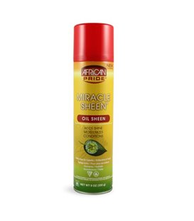 African Pride Miracle Sheen Oil Sheen Spray 9 oz