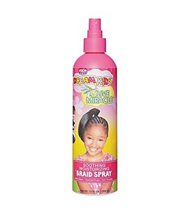 African Pride Dream Kids Olive Miracle Soothing Moisturizing Braid Spray 355 ml/12 floz