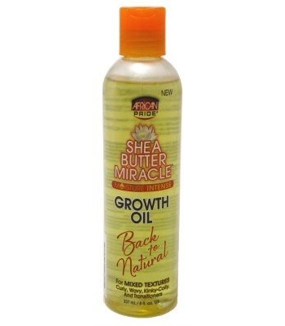 African Pride Shea Butter Miracle Growth Oil 237 ml/8 floz