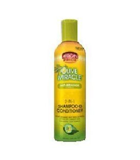 African Pride Olive Miracle 2 IN 1 FORMULA SHAMPOO & CONDITIONER