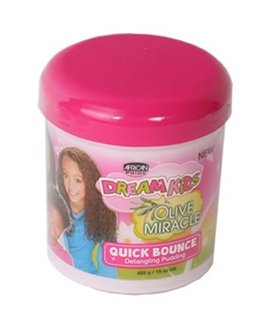 African Pride Dream Kids Olive Miracle Quick Bounce Detangling Pudding