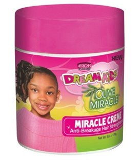 African Pride Dream Kids Olive Miracle Anti-Breakage Hair Strengthener Miracle Creme 170 g/6 oz