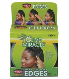 African Pride Olive Miracle Silky Smooth Edges 64 g