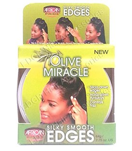 African Pride Olive Miracle Silky Smooth Edges Moisturizing Formula 64 g