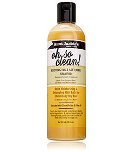 Aunt Jackies Moisturizing and Softening Shampoo Oh So Clean! 355 ml