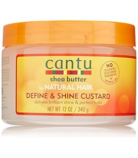 Cantu Shea Butter for Natural Hair Define & Shine Custard 340 g
