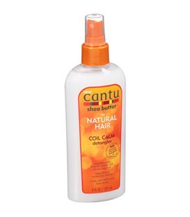 Cantu Shea Butter For Natural Hair Coil Calm Detangler Spray*Smooth Coils Kinks & Curls For Soft Tangle-Free Hair 237 ml