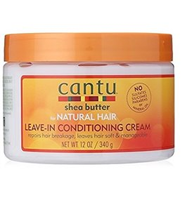 Cantu Shea Butter For Natural Hair Leave in Conditioning Cream 340 g