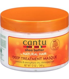 Cantu Shea Butter For Natural Hair Deep Treatment Masque Restores & Strenghthens Dry Damaged Hair Made With 100% Pure Shea Butte