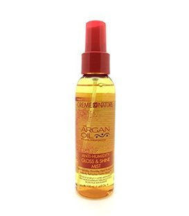 Creme of Nature Argan Oil Anti Humidity Gloss and Shine Mist 4 oz