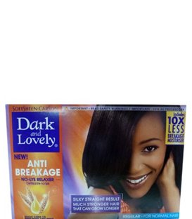 Dark & Lovely New Anti-Breakage No-Lye Relaxer - Includes Oil Moisturiser