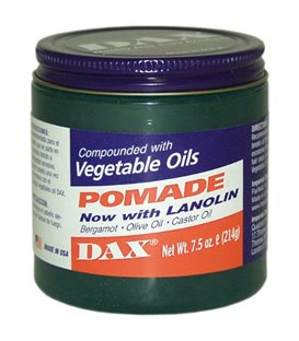 Dax Pomade Now with Lanolin compounded with Vegatable Oils