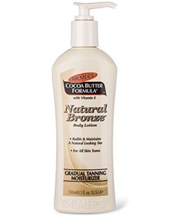 Palmers Cocoa Butter Formula Natural Bronze Gradual Tanning Moisturizing Lotion 250 ml