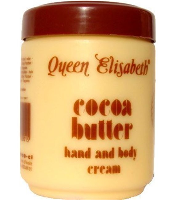 Queen Elisabeth Cocoa Butter Hand & Body Creme 16 oz/500 ml