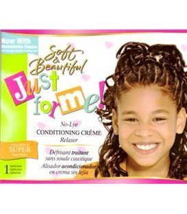 Just For Me Soft & beautiful No-Lye Condining Kids Hair Relaxer Regular