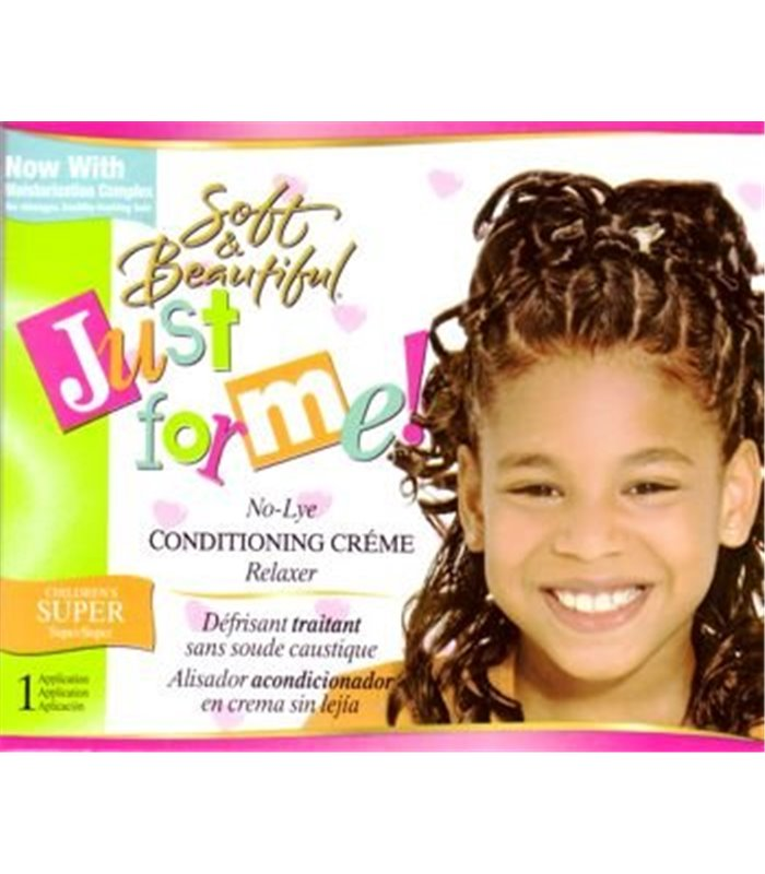 just for me no lye relaxer instructions