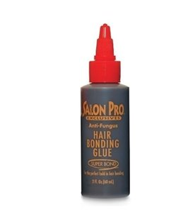 Salon Pro bonding Hair Extension Black Glue- 1 oz