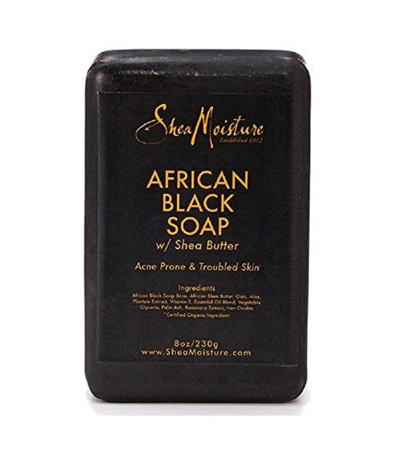 Shea Moisture Soap 8oz Bar African Black With Shea Butter