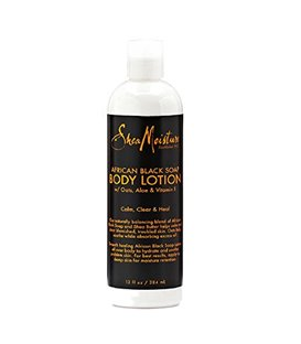Shea Moisture Organic African Black Soap Shea Butter Lotion
