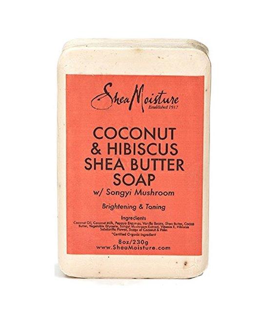 Shea Moisture Coconut Hibiscus Bar Soap- 235 ml