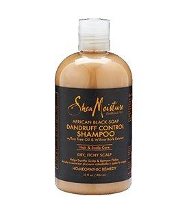 Shea Moisture African Black Soap Dandruff Control Shampoo - 380 ml