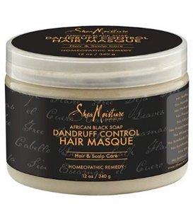 Shea Moisture African Black Soap Dandruff Control Masque - 350 ml