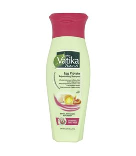 Vatika Naturals Egg Protein Rejuvenating Shampoo For Damaged/ Split Hair 200 ml
