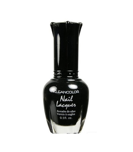 Kleancolor Nailpolish Black 5