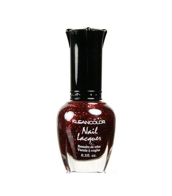Kleancolor Nailpolish Red Sparkle 40