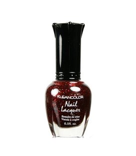 Kleancolor Nailpolish Red Sparkle 40
