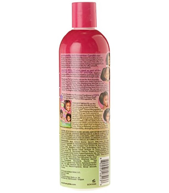 African Pride Dream Kids Detangler Miracle Anti-Reversion Anti-Humidity Conditioner 355 ml/12 floz