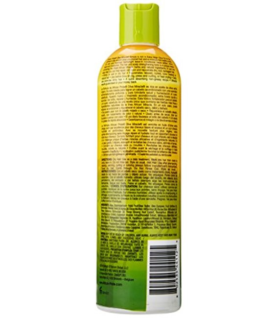 African Pride Olive Miracle Anti-Breakage Leave-In Conditioner 355 ml/12 oz
