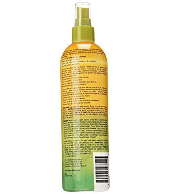 African Pride Olive Miracle Anti-Breakage Braid Sheen Spray 355 ml/12 floz