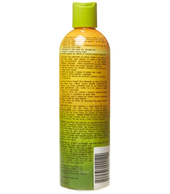 African Pride Olive Miracle Anti-Breakage Maximum Strengthening Moisturizer Lotion 355 ml/12 floz